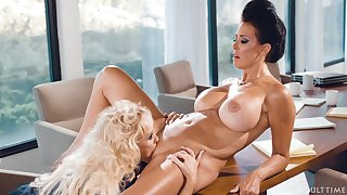 Intrigue ladies Brandi Love and Reagan Foxx carry on abroad their differences