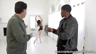 Latina wife Vanna Bardot drops on her knees to have sexual connection with a BBC