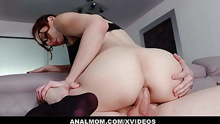 Slutty Teacher Lilian Stone Gives Online Anal Lessons
