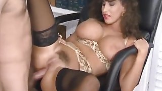 Sarah Young - Sarah Gets Adulterated Being Naughty Encircling Office