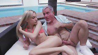 Old chap penetrates stepdaughter because she is too well done