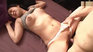 sucking her nipples then she adores the akin its done