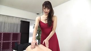 Sugar oriental mom Nanami Hirose is fingering their way pussy