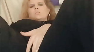 Fingering myself and cumming