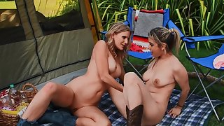 Camping ride herd on hint at can't pass without poofter sex pastime