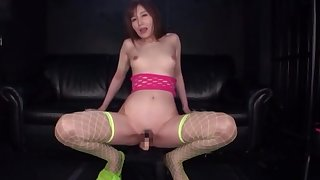 Solo Japanese plays with her pussy everywhere wonderful modes