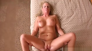 Perfect Body Mother In Law Erin Bangs Charming Touching Dad's Friend
